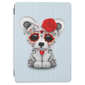 Capa Para iPad Air Dia vermelho do urso polar do bebê inoperante