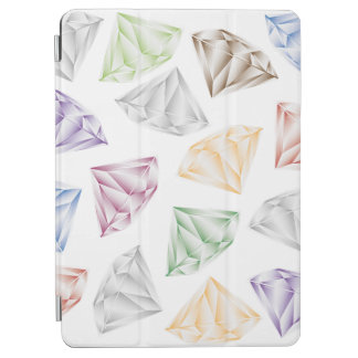 Capa Para iPad Air Diamantes coloridos para meu querido