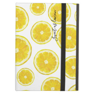 Capa Para iPad Air Do limão da fatia da alta tecnologia design poli