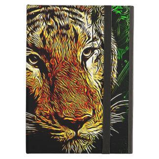 Capa Para iPad Air do safari predador dos animais selvagens da selva