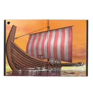Capa Para iPad Air Drakkar ou navio de viquingue - 3D rendem