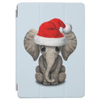 Capa Para iPad Air Elefante do bebê que veste um chapéu do papai noel