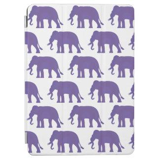 Capa Para iPad Air Elefantes roxos