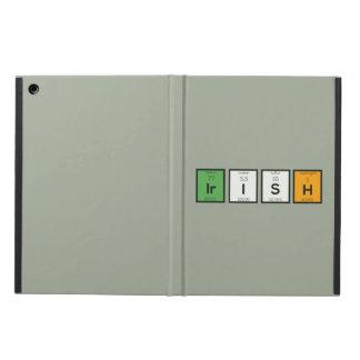 Capa Para iPad Air Elementos químicos irlandeses Zy4ra