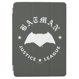 Capa Para iPad Air Emblema retro do bastão da liga de justiça |