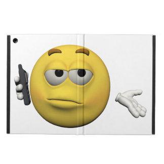 Capa Para iPad Air Emoticon do telefone
