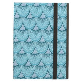 Capa Para iPad Air Escalas azuis da sereia, boho, hippie, boémio