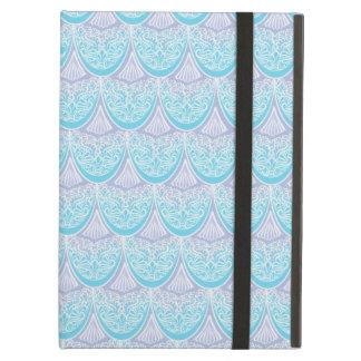 Capa Para iPad Air Escalas cor-de-rosa da sereia, boho, hippie,