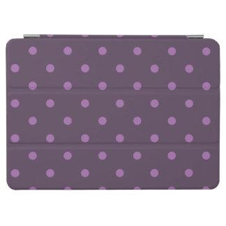 Capa Para iPad Air escuro e claro elegantes - bolinhas roxas