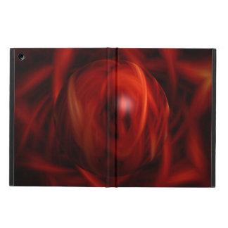 Capa Para iPad Air Esfera do fogo vermelho