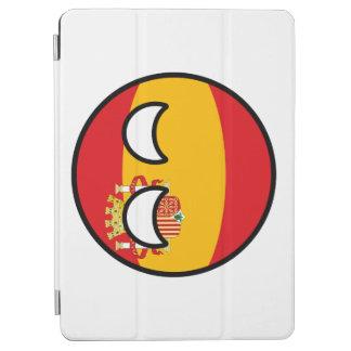 Capa Para iPad Air Espanha Geeky de tensão engraçada Countryball