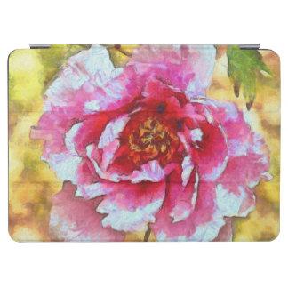 Capa Para iPad Air Estilo cor-de-rosa de Van Gogh da peônia