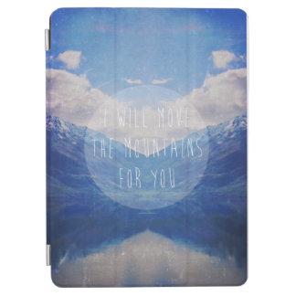 Capa Para iPad Air Eu moverei as montanhas para você