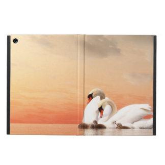 Capa Para iPad Air Família da cisne