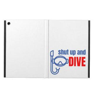 Capa Para iPad Air Feche acima e mergulhe