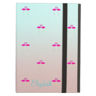 Capa Para iPad Air Flamingos cor-de-rosa adoráveis no