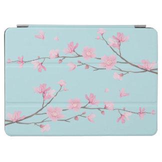 Capa Para iPad Air Flor de cerejeira - azul-céu
