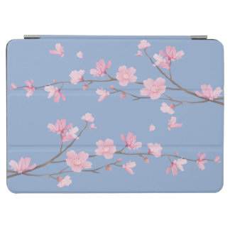 Capa Para iPad Air Flor de cerejeira - azul da serenidade