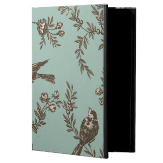 Capa Para iPad Air Flor do pássaro toile