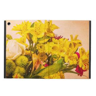 Capa Para iPad Air Flores amareladas