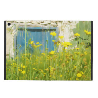 Capa Para iPad Air Flores amarelas da aguarela