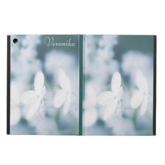 Capa Para iPad Air Flores brancas bonitas