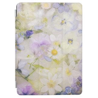 Capa Para iPad Air Flores congeladas