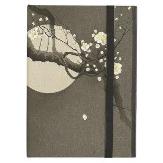 Capa Para iPad Air Flores da ameixa na noite pelo vintage de Ohara