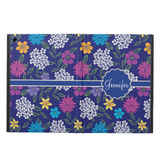 Capa Para iPad Air Flores selvagens femininos do primavera e do