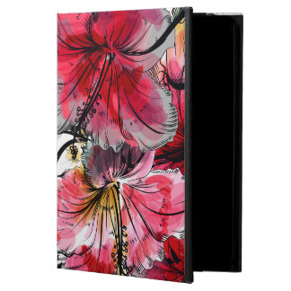 Capa Para iPad Air Flores tropicais do hibiscus