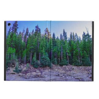 Capa Para iPad Air Floresta & céu do vale de Yosemite