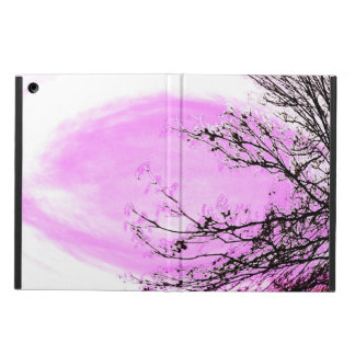 Capa Para iPad Air Floresta cor-de-rosa - Apple areja o cobrir da