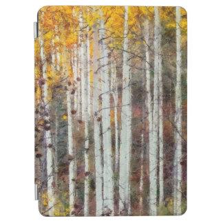 Capa Para iPad Air Floresta enevoada do vidoeiro