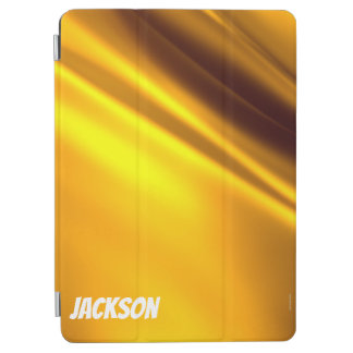 Capa Para iPad Air Folha dourada