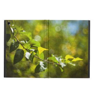 Capa Para iPad Air Folhas e bokeh