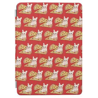Capa Para iPad Air Frenchie de creme convida-o a seu partido da pizza