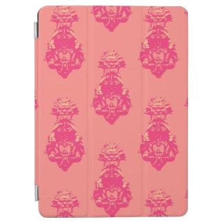 Capa Para iPad Air Fundo cor-de-rosa/salmon do vintage da cor