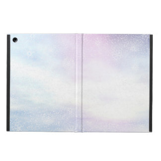 Capa Para iPad Air Fundo nevado do dia do inverno - 3D rendem