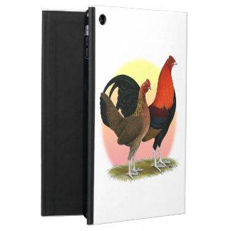 Capa Para iPad Air Galinha anã de jogo inglesa velha:  Vermelho do BB