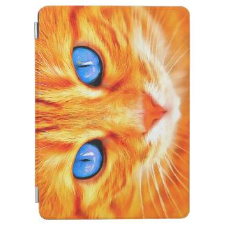 Capa Para iPad Air Gato de olhos azuis