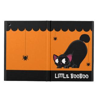 Capa Para iPad Air Gato preto e aranha do Dia das Bruxas