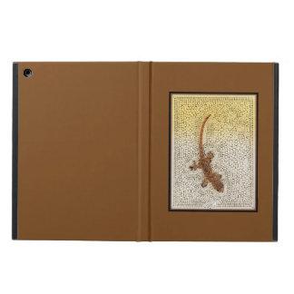 Capa Para iPad Air Geco quadro no ouro escuro