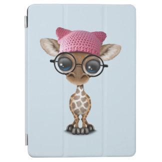 Capa Para iPad Air Girafa bonito do bebê que veste o chapéu do
