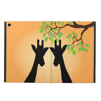 Capa Para iPad Air Girafas da selva