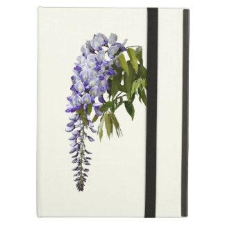 Capa Para iPad Air Glicínias e folhas
