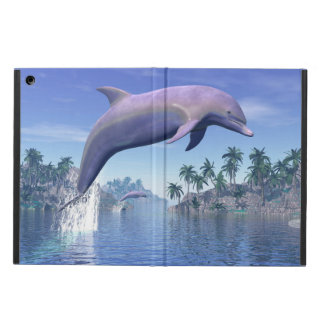 Capa Para iPad Air Golfinho nos trópicos - 3D rendem