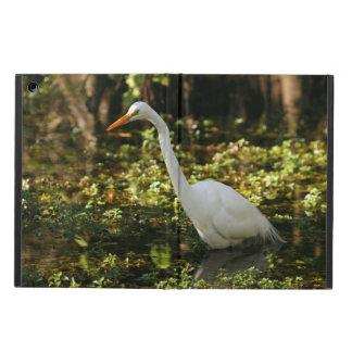 Capa Para iPad Air Grande Egret que vadeia nos marismas