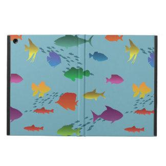 Capa Para iPad Air Grupo colorido de peixes subaquáticos
