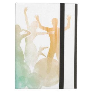 Capa Para iPad Air Grupo de amigos que saltam para a alegria na