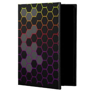 Capa Para iPad Air Hex da cor com cinza